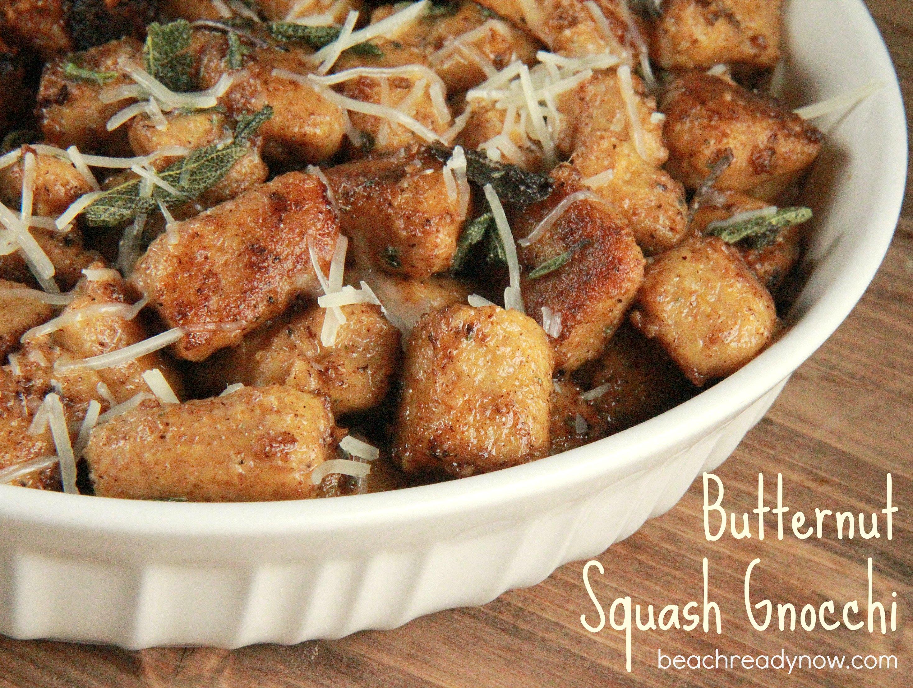 Butternut Squash Gnocchi with Sage