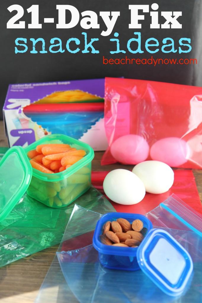 21-Day Fix Snack Ideas #21DayFix #BeachReadyNow #Fitness