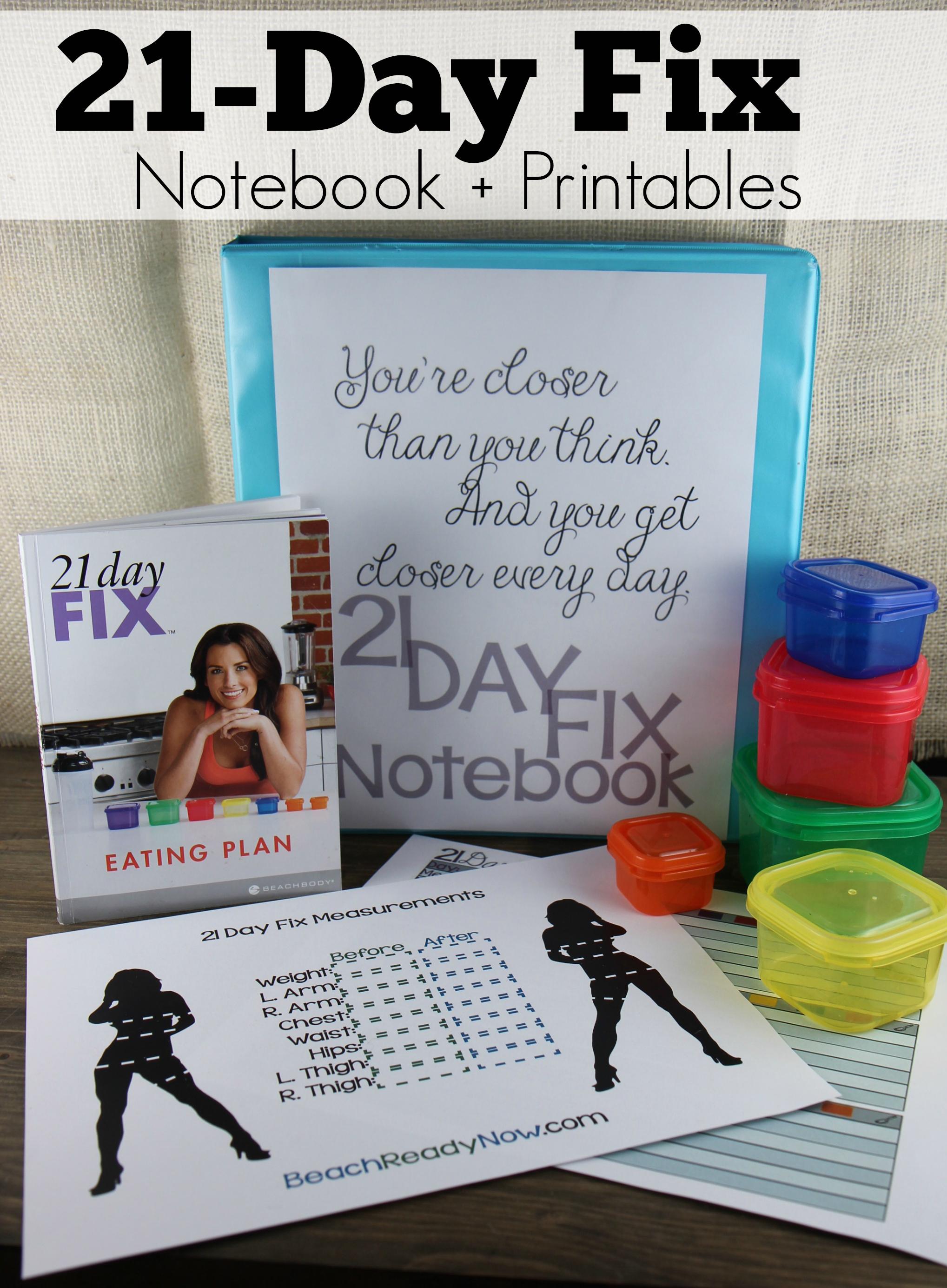 Keep a Fitness Notebook