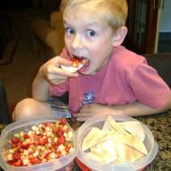 Clean Eating Fruit Salsa