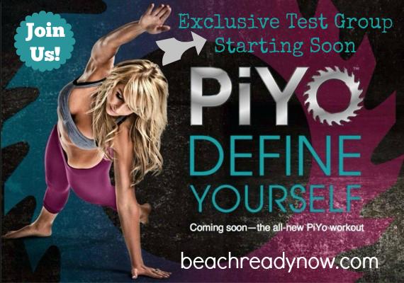 Exclusive PiYo Workout Test Group Starts SOON