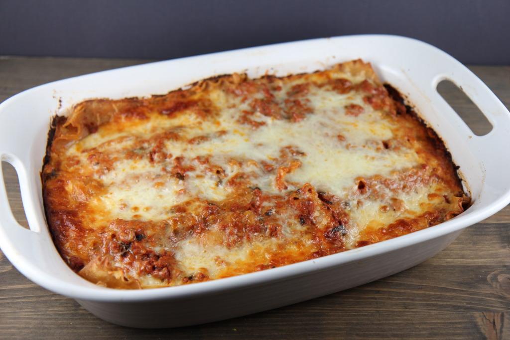 Clean Eating Turkey Lasagna