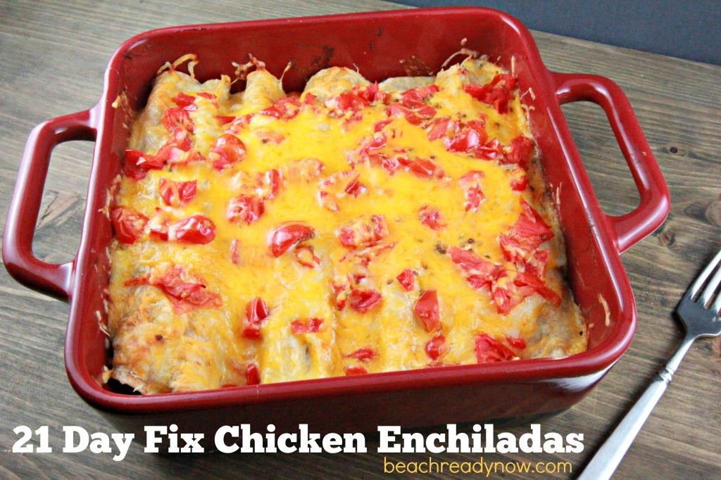 21 Day Fix Enchiladas