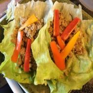 Turkey and Quinoa Lettuce Wraps