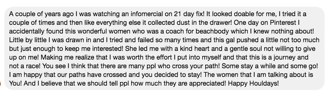 Kim Danger Coach Testimonial