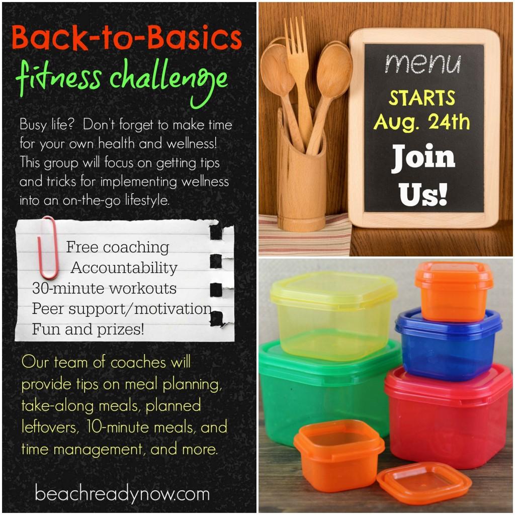 Back to Basics Challenge Group - #BeachReadyNow