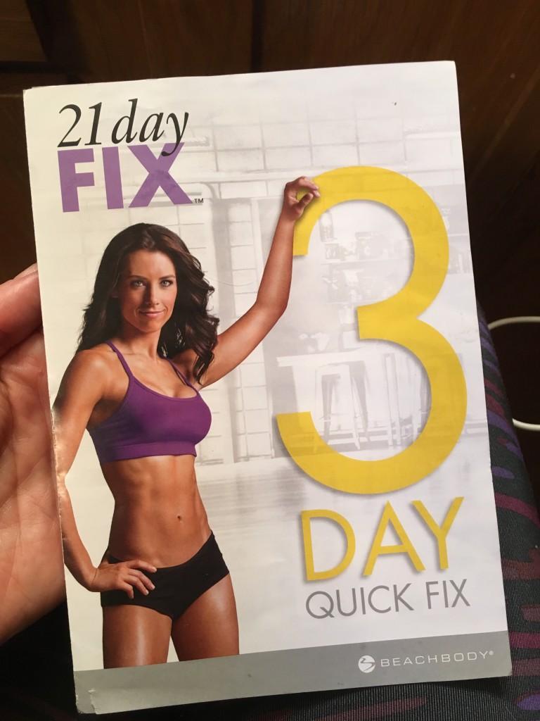 21 Day Fix 3 Day Quick Fix