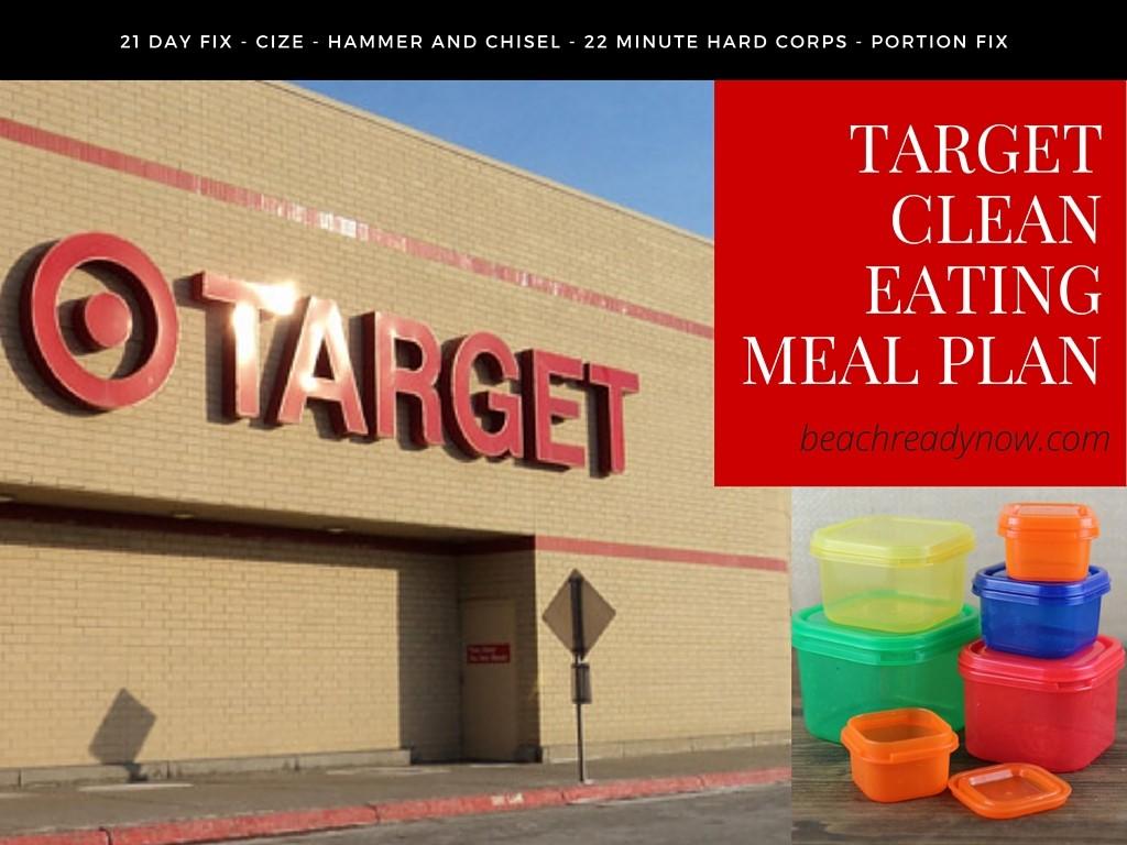 21 Day Fix Target Menu Plan